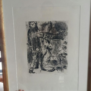 Lithographie signé Marc Chagall