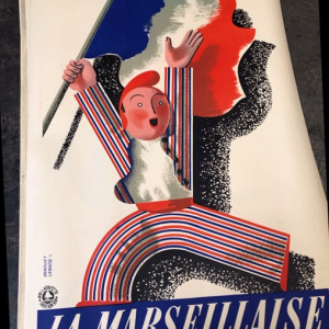 AFFICHES LOTERIE NATIONALE LAFAYETTE