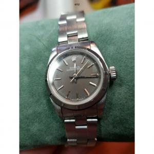 Montre Rolex Femme Oyster Perpetual automatic acier inoxydable