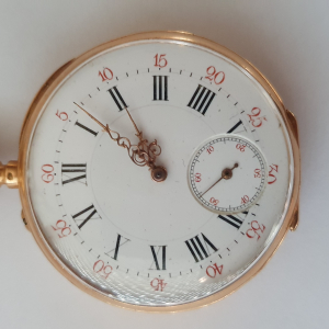 Montre a gousset en or